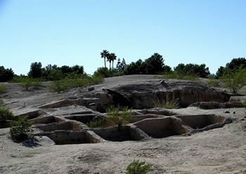 view of Mesa Grande Ruins, AZ