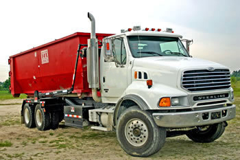 truck for dumpster rentals in Mesa, Arizona